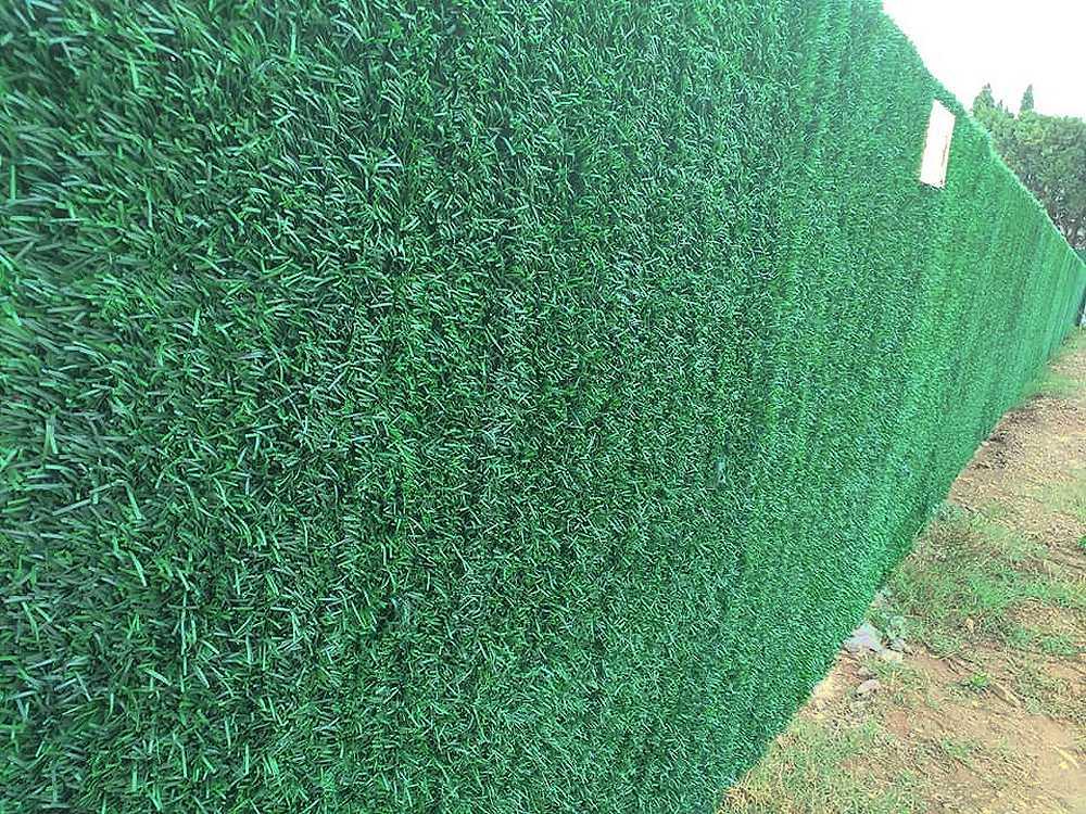 Colocación de vallas y ocultaciones de jardín