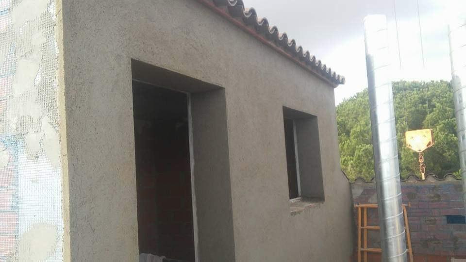 Revocos fachadas viviendas EGO Construcciones