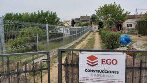 Colocación vallas Girona Ego Construcciones