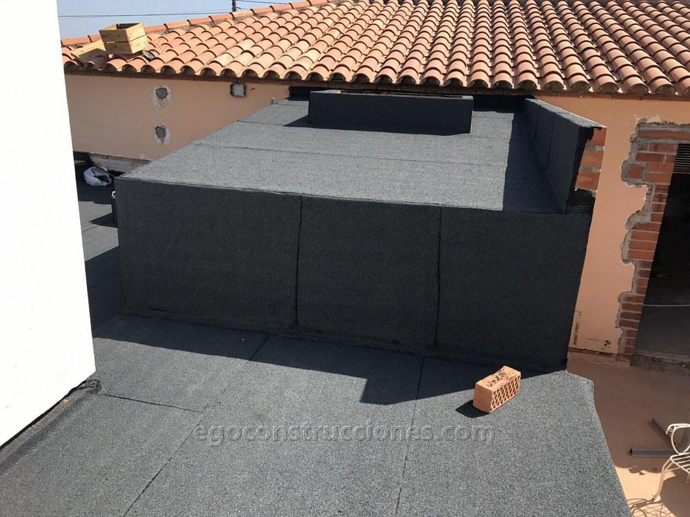 Tela asfáltica para terrazas, cubiertas y tejados