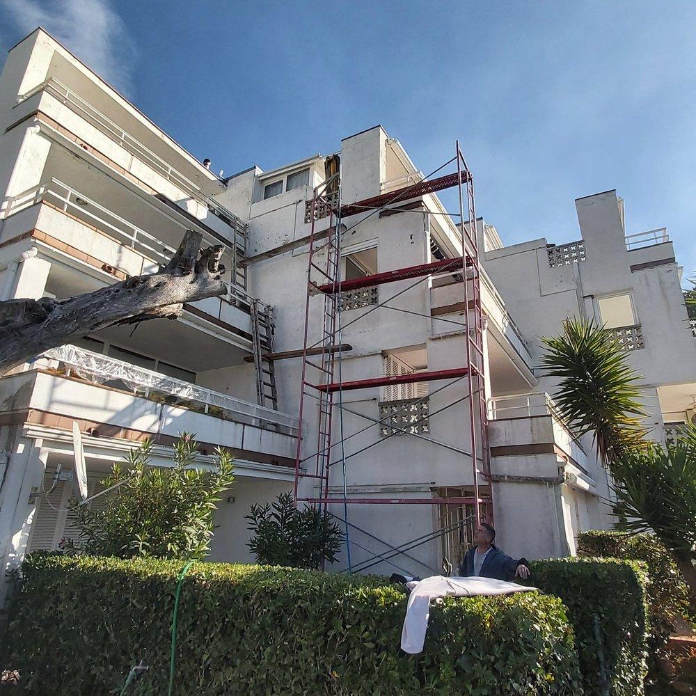 pintura fachadas ego construcciones